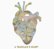 A Traveler's Heart Baby Tee