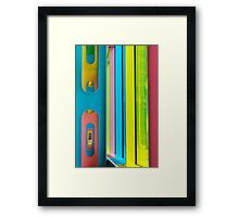 A Palace of Light and Colours Framed Print