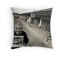 70 years later Throw Pillow