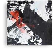 Black White and Red VI Canvas Print