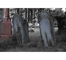 westbury church yard Photographic Print