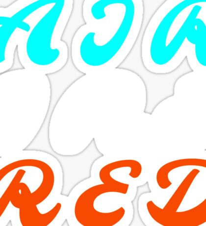 Air Ire Red – Two Sticker