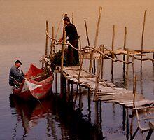 Preparing the nets by Jose Saraiva