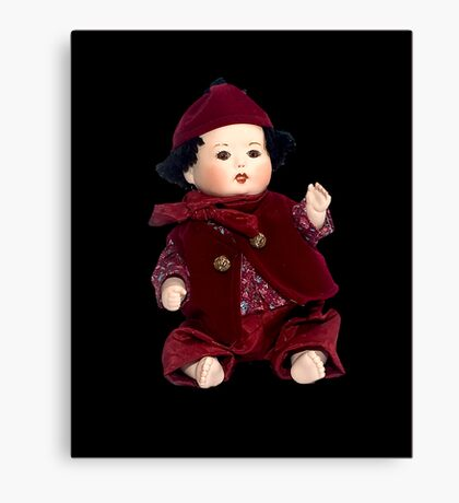 China Doll Canvas Print