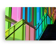 Candy Coloured Palace Canvas Print