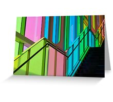 Candy Coloured Palace Greeting Card