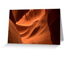 Antelope Canyon Light Greeting Card