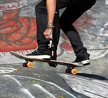 Skate Boarding by David Lee Thompson
