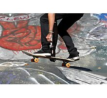 Skate Boarding Photographic Print