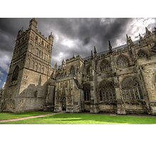 April weather at the cathedral Photographic Print