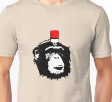 Monkey alert  Unisex T-Shirt