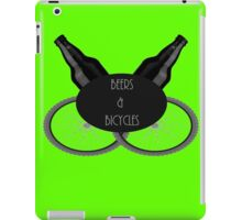 Beers and Bicycles  iPad Case/Skin