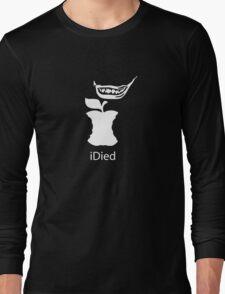 iDied - White Long Sleeve T-Shirt