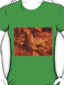 Curling Tulip Abstract 21 T-Shirt