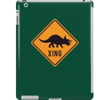 Prehistoric Xing - Triceratops iPad Case/Skin