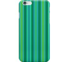 Lucky Stripe_Green and Navy iPhone Case/Skin
