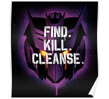 DJD - Find. Kill. Cleanse. Poster