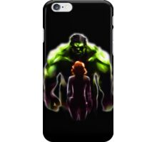 MARVEL - Black Widow and Hulk Romance iPhone Case/Skin
