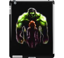 MARVEL - Black Widow and Hulk Romance iPad Case/Skin