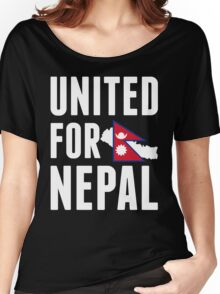 UNITED FOR NEPAL - Earthquake In Nepal Women's Relaxed Fit T-Shirt