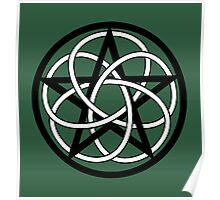 Celtic Knot Pentacle Poster