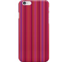 Lucky Stripe_Maroon and Purple iPhone Case/Skin