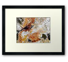 Fear Of The Unknown Close-up Framed Print