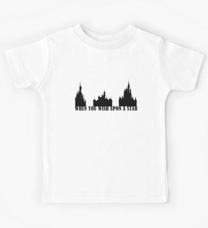 When You Wish Upon A Star Kids Tee