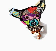 Chihuahua Mixed Media Collage Unisex T-Shirt