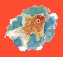 Watercolor Goldfish by FrenchieChu