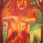 WIZARD OF OZ COWARDLY LION by JoAnnHayden