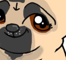 Bucks Pug Sticker