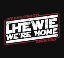Chewie We're Home (My Childhood Awakens) - Dist Red White by coldbludd