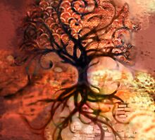 Tree Collage 2 by JBurkeDesign