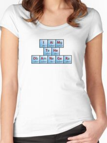 Periodic Danger Women's Fitted Scoop T-Shirt