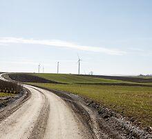 wind farm by Artur Mroszczyk