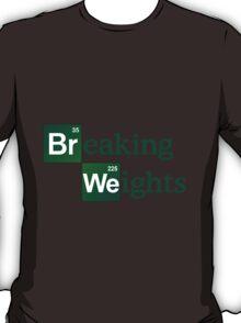 Breaking Weights - Breaking Bad Logo Style T-Shirt