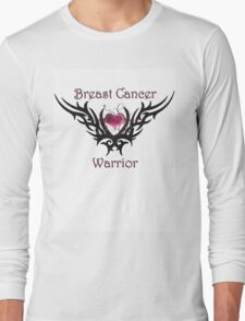 Breast Cancer Warrior Long Sleeve T-Shirt
