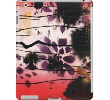 { tropical floral dip mixed media } iPad Case/Skin