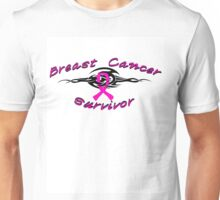 Breast Tribal Survivor Unisex T-Shirt