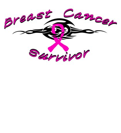 Breast Tribal Survivor Sticker