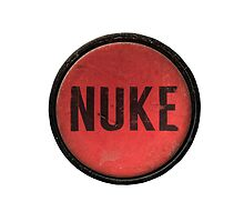Red Nuke Button by mrdoomits