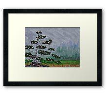 The Legend of the White Bird Tree Framed Print