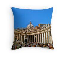 The Vatican Throw Pillow