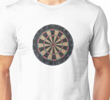 Isolated Dart Board Unisex T-Shirt