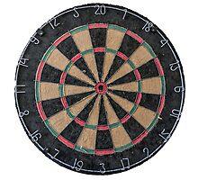 Isolated Dart Board by mrdoomits