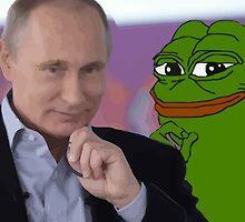 Smug Vladimir Pepe by kendokoala