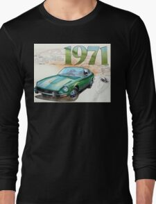 Vintage Datsun 240Z Car Long Sleeve T-Shirt