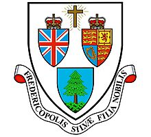 Fredericton Coat of Arms Photographic Print