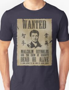 Wanted Captain  T-Shirt